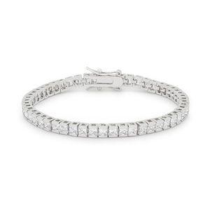 Jewelry - Princess Cubic Zirconia Tennis Bracelet